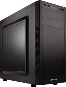 Corsair Carbide Series 100R CC-9011075-WW Black Steel ATX Mid Tower Computer Case