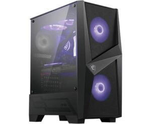 MSI MAG Forge 100M Mid Tower Gaming PC Case